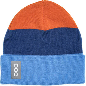 POC Stripe Hoofdbedekking oranje/blauw